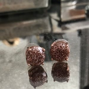 Bronze Kate Spade earrings